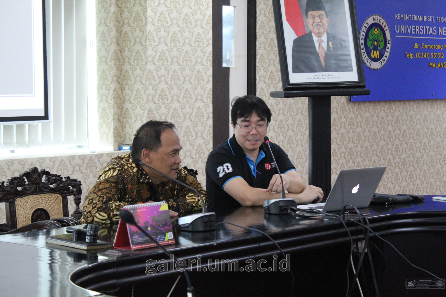 Photo of Simulasi AUN-QA Assessment bersama Yu Un Oppusunggu, PhD.