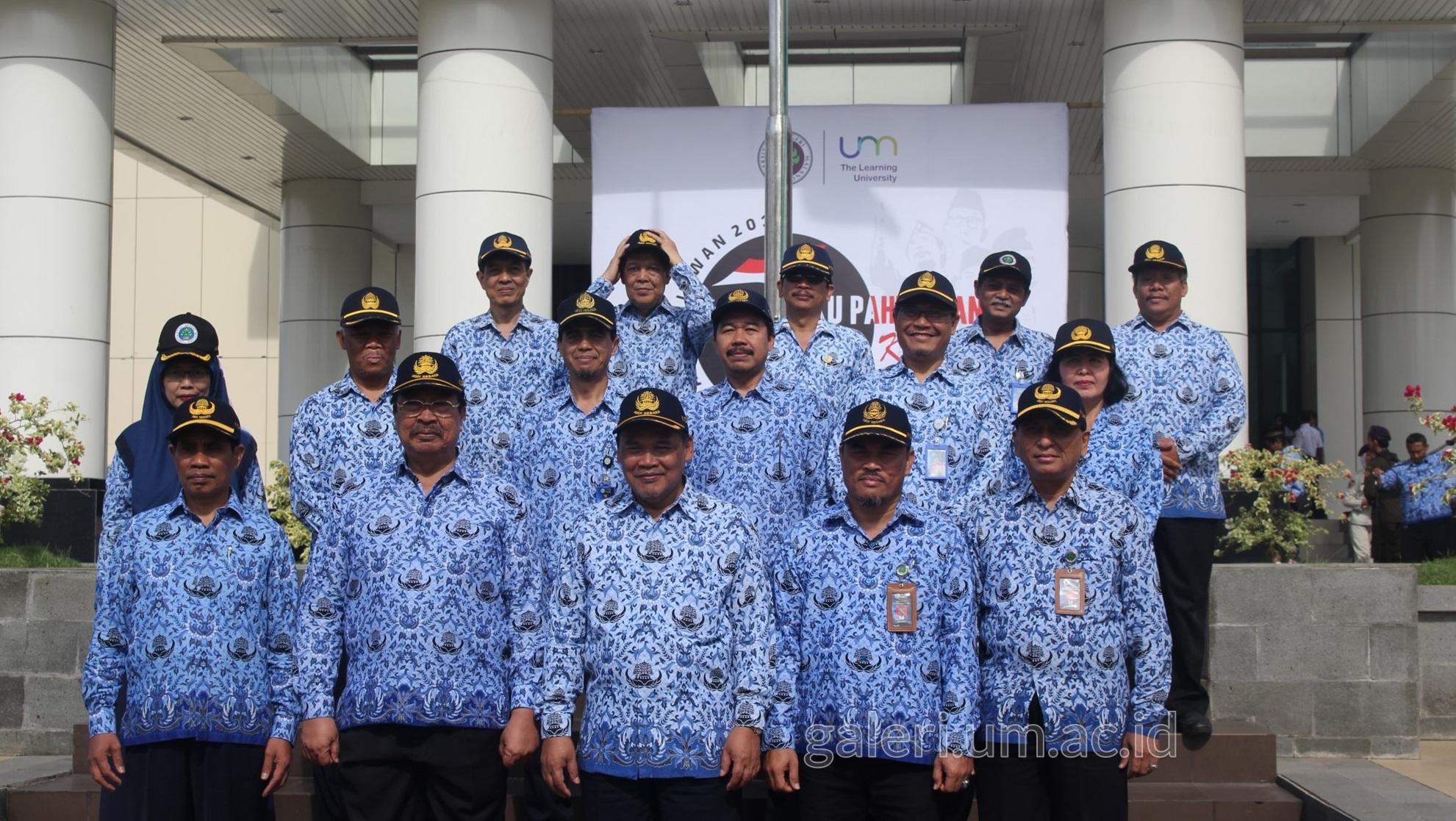 Photo of Upacara Hari Pahlawan 2019 di UM Berlangsung Khidmat