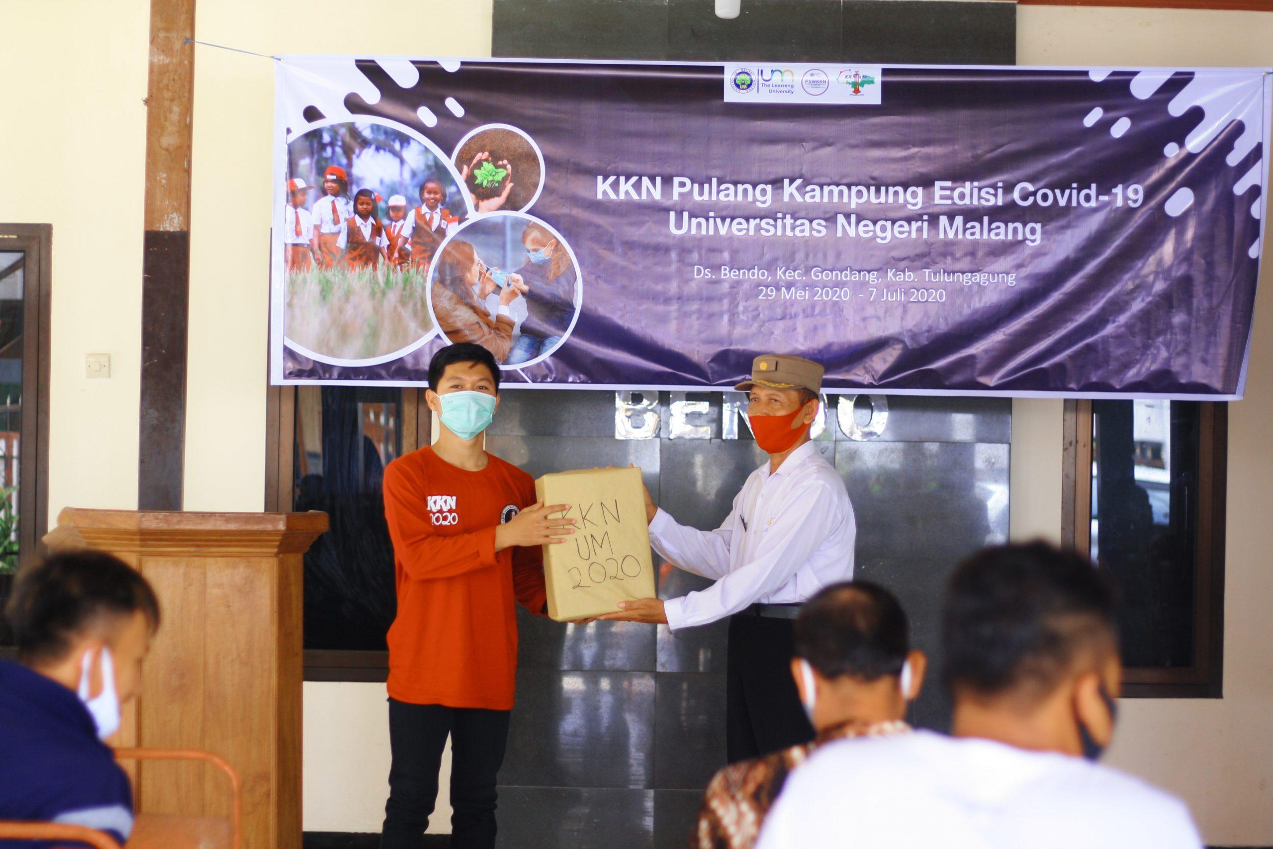 Mahasiswa Kkn Um Lakukan Penyuluhan Tentang Herd Imunity Dan New Normal Universitas Negeri Malang Um