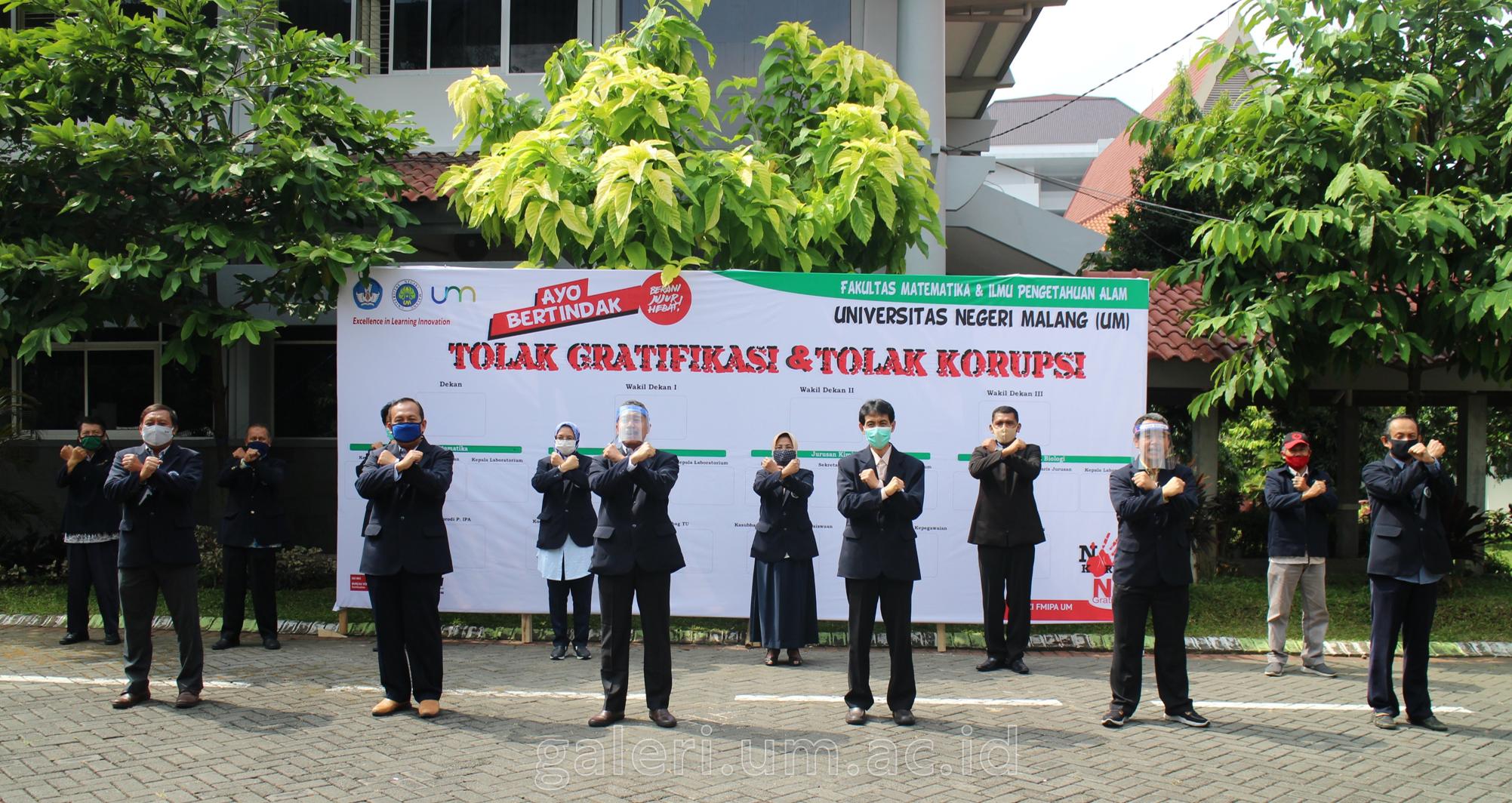 Photo of FMIPA UM Berkomitmen Melaksanakan Pembangunan Zona Integritas