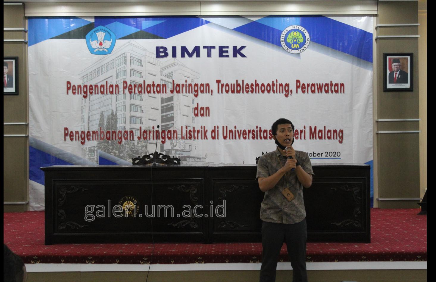 Photo of Subag RT UM Bersama PLN Dinoyo adakan Bimbingan Teknik Pengetahuan Dasar Jaringan Listrik