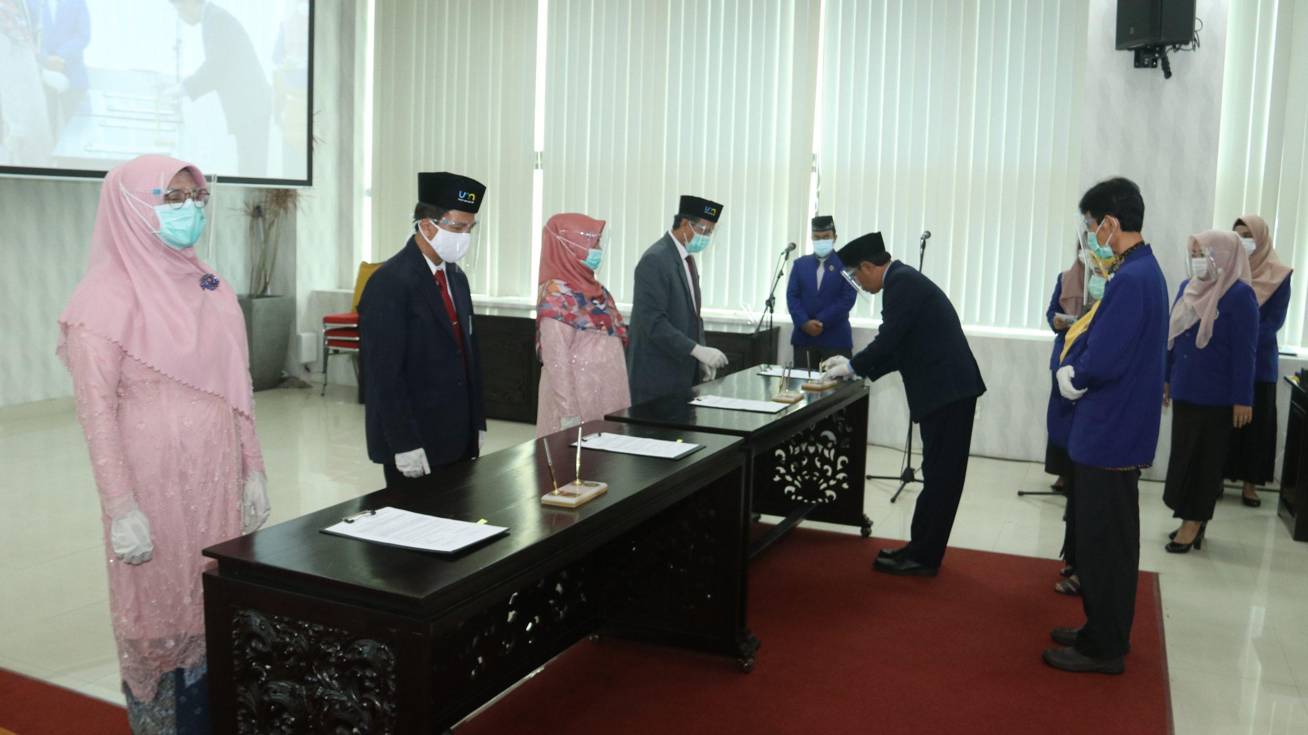 Photo of Dokumentasi Pelantikan dan Pengambilan Sumpah Jabatan Pejabat Fungsional UM Tahun 2020