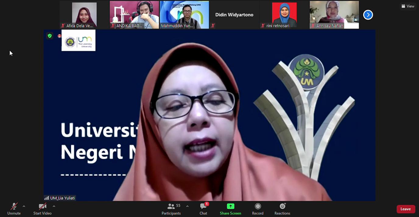 Photo of LP3 UM Gelar Workshop Virtual: Penyegaran dan Pengembangan Konten Pembelajaran Sipejar Berbasis Multimedia pada Dosen Pelopor