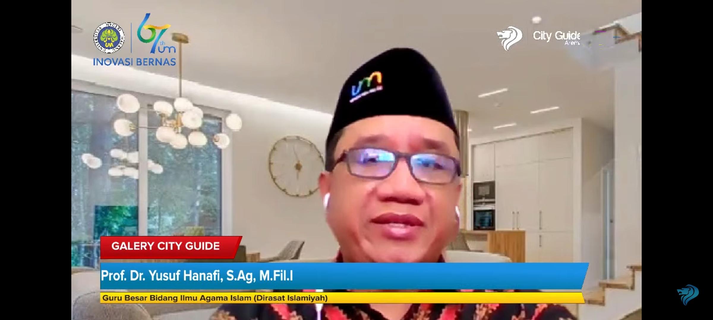 Photo of Talkshow Galery City Guide 911 FM Bersama Prof. Yusuf Hanafi: Moderasi Beragama Merajut Kebhinekaan
